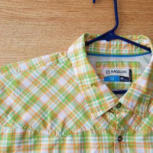MAGELLAN Outdoors Men's 2XL Mag Wick Shirt EUC